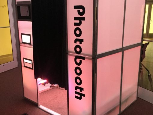 Enclosed Photo Booth Rental